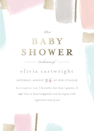 baby shower invitations - quilt by Angela Marzuki