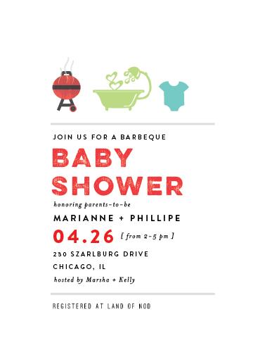 baby shower invitations - amaretto by chocomocacino