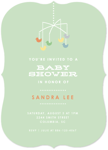 baby shower invitations - Quack Quack - Sage by Becky Hoppmann