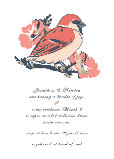 baby shower invitations - Waiting for Blessings by Franklin OToole
