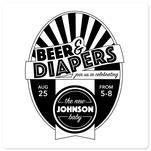 Beer & Diapers by Lakeside Handmade