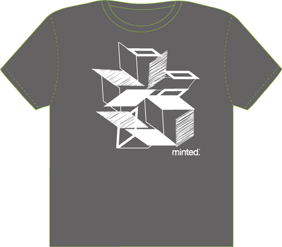 minted t-shirt design - Geometric Design by Andriana