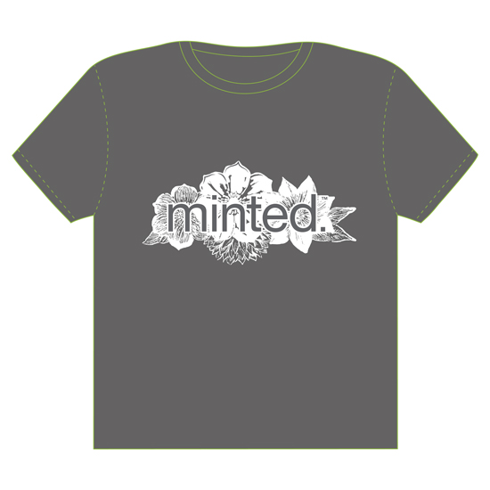 minted t-shirt design - Tussie Mussie by Christie Kelly