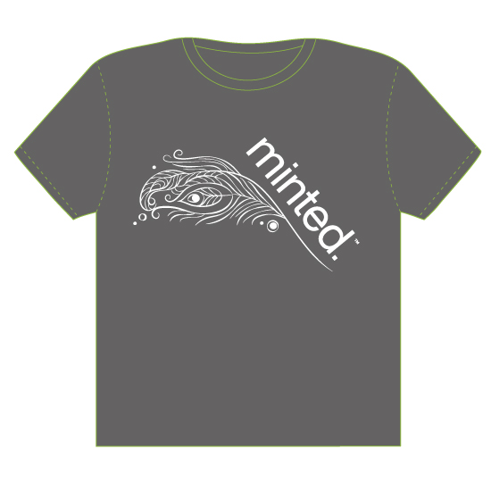 minted t-shirt design - Flaunt Your Feathers by Carole Robare