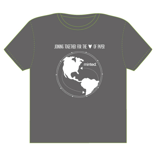 minted t-shirt design - Joining Together by Hello Ruby Grace