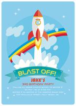 BLAST OFF by McKLi