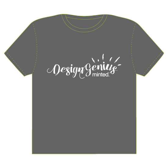 minted t-shirt design - Design Genius by Mandy Wilson