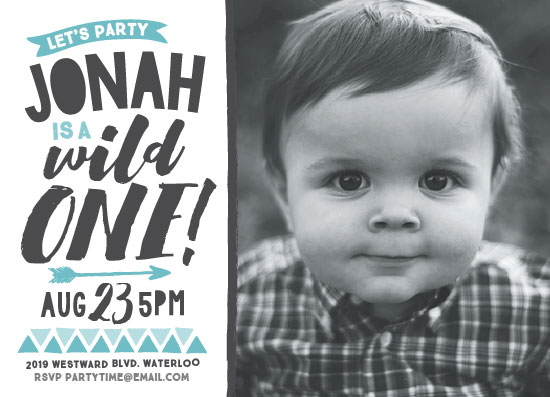 birthday party invitations - Wild by Jessie Steury