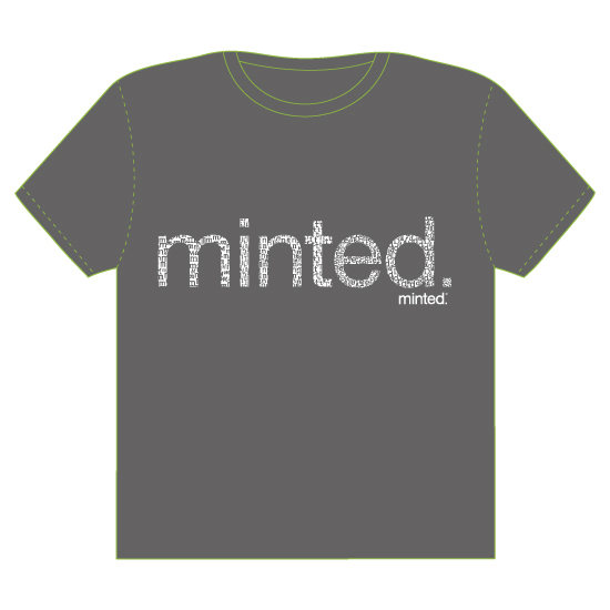 minted t-shirt design - Letters in Letters by Kathleen Petit