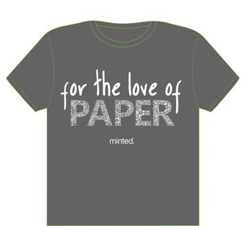 For the love of paper!