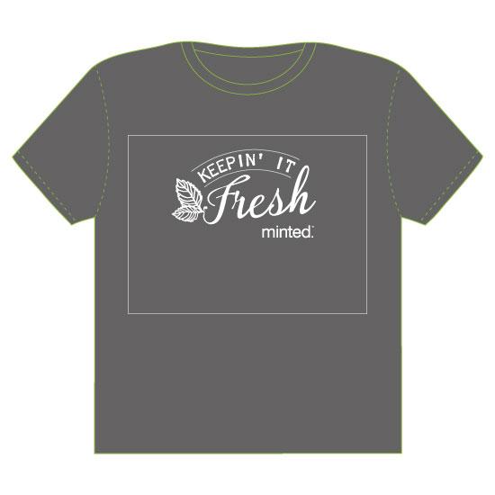 minted t-shirt design - Keepin It Fresh by Melissa Alexander
