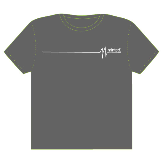 minted t-shirt design - PULSE by Rushmi
