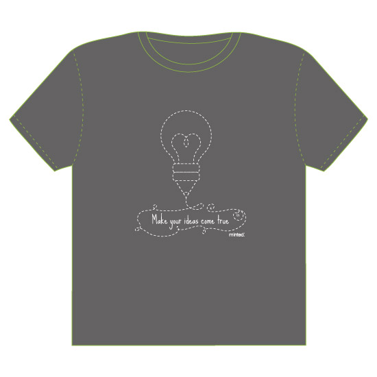 minted t-shirt design - Make your ideas come true by Juliana Motzko