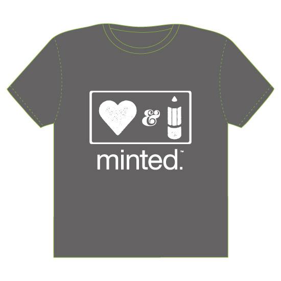 minted t-shirt design - Love & Creativity by Juliana Motzko