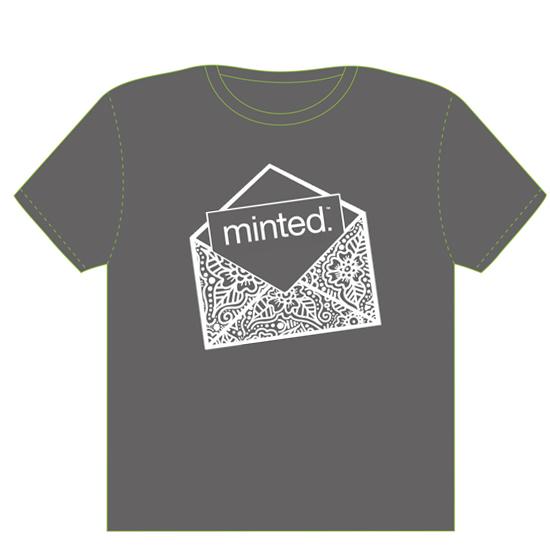 minted t-shirt design - Signed. Sealed. Delivered. Minted. by The Tattered Traveler