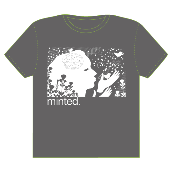 minted t-shirt design - Minted muse by Linda Mägi