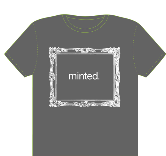 minted t-shirt design - Minted frame t-shirt by Madeleine