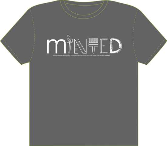 minted t-shirt design - Tools and Art of a Mintie by Joey Crisostomo-Wynne