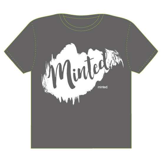 minted t-shirt design - Inky Minted by Andra Kosik