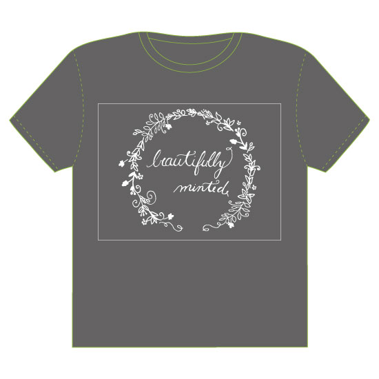 minted t-shirt design - Beautifully Minted Ring of Flowers by frances