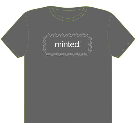 minted t-shirt design - Minted Lace border t-shirt by Madeleine