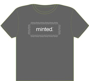 Minted Lace border t-shirt