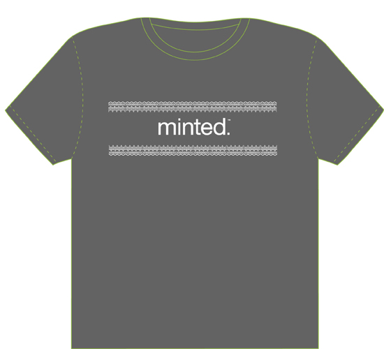 minted t-shirt design - Minted Laced with style t-shirt by Madeleine