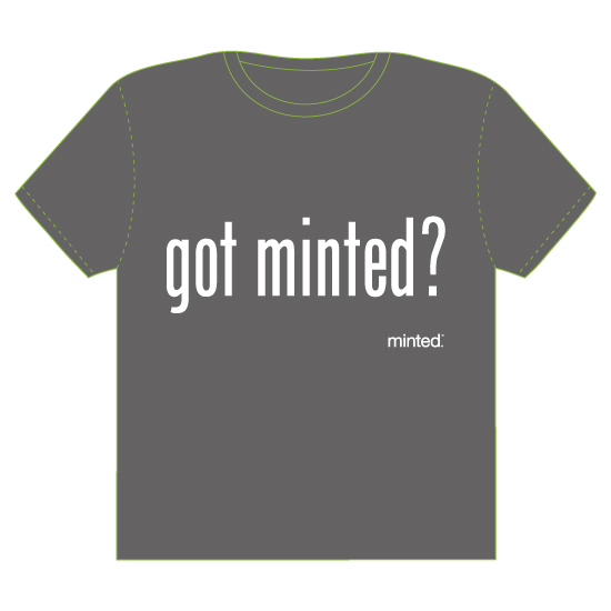 minted t-shirt design - Got Minted? by Kathleen Petit