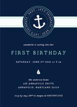 Sailing Away Birthday by Nicole Anderson