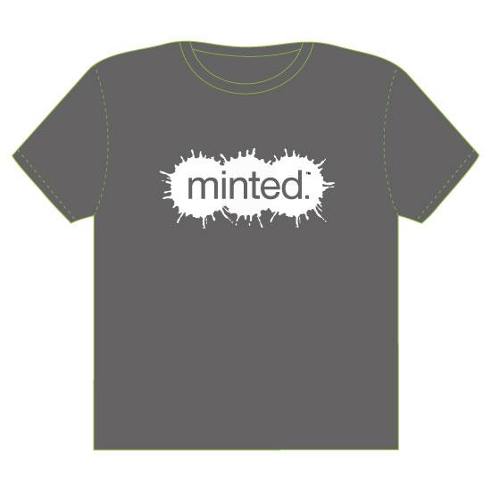 minted t-shirt design - paint splatters by Anastasia B. Kijewski