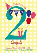 Sweet Birthday Number by Katherine Franzen