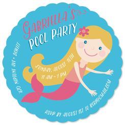 Lil' Mermaid Pool Party