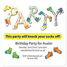Party your socks off by Christine Rae