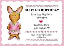 Sweet Bunny's Birthday by Christine Rae