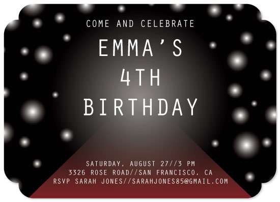 birthday party invitations - It's Runway Time by Lindsey Kelly