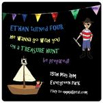 Treasure hunt pirat by Juli Marti