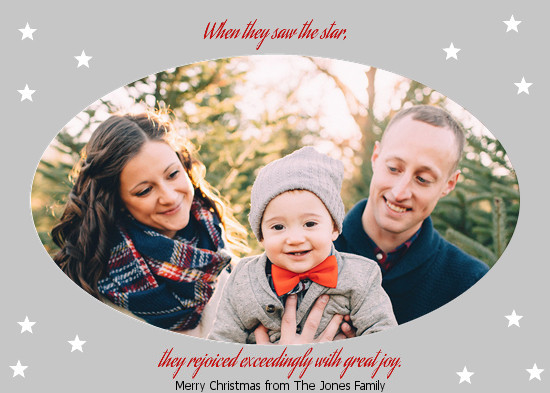 holiday photo cards - Star of Joy by Jane CoCo Cowles