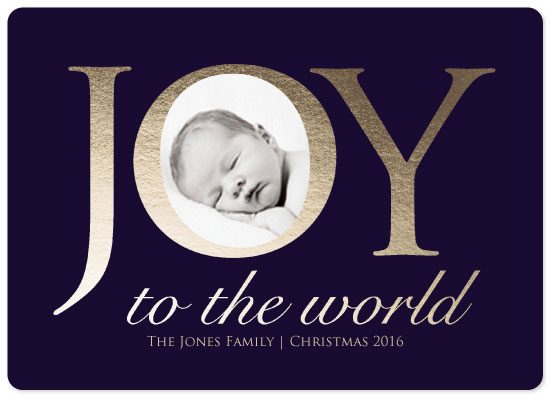 holiday photo cards - Joy by Lindsey Kelly