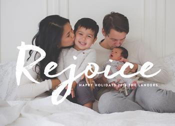 Rejoice his love