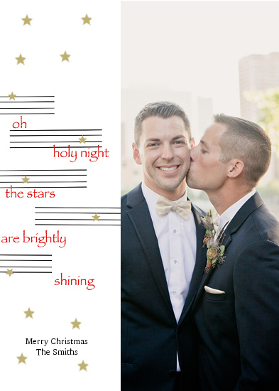 holiday photo cards - Stars are Shining by Jane CoCo Cowles