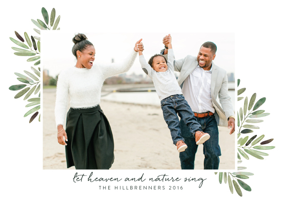 holiday photo cards - Heaven Sings by Haley Warner