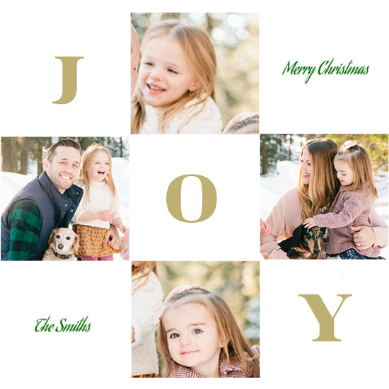 holiday photo cards - Season of Joy by Jane CoCo Cowles