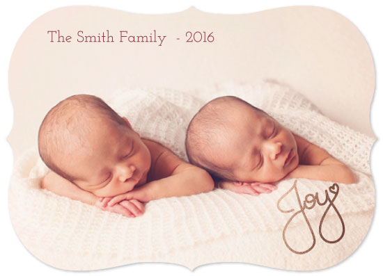 holiday photo cards - Joy of Heart by Juliana Motzko