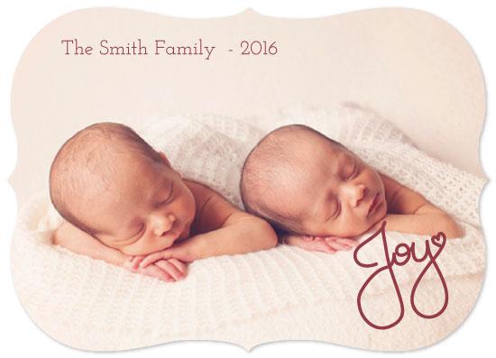 holiday photo cards - Joy by Juliana Motzko