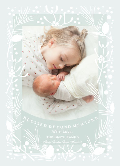 holiday photo cards - Blessed Beyond Measure by Hannah Williams