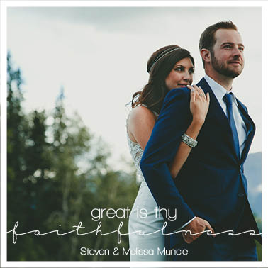 holiday photo cards - Great is Thy Faithfullness by Morgan Franzon