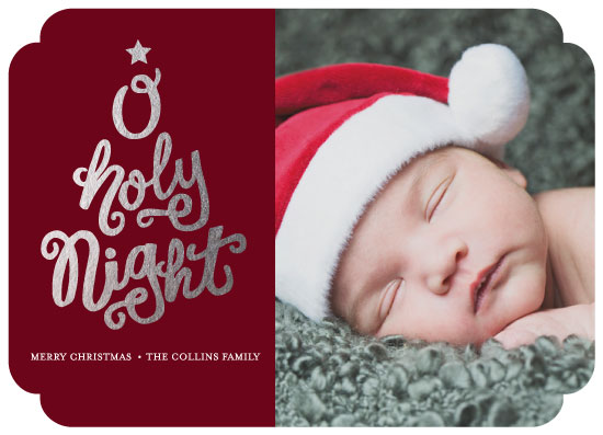 holiday photo cards - Holy and bright by Sarah Stoicich