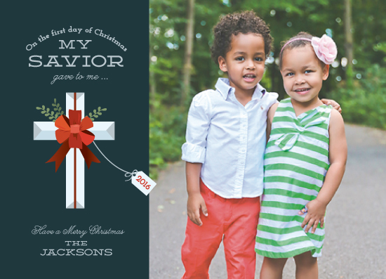 holiday photo cards - Savior Gift by Katie Zimpel