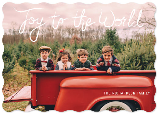 holiday photo cards - Joy in a day! by frances