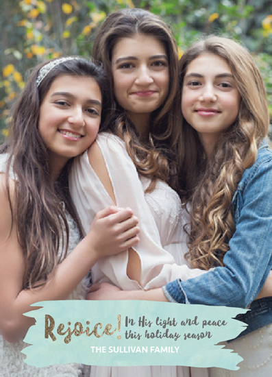 holiday photo cards - His Light & Peace by South City Press